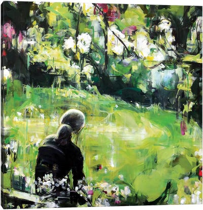 Last Spring Canvas Art Print