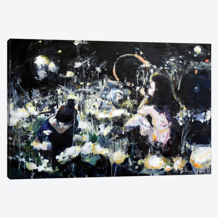 Night Dreams Canvas Print #HYU20} by Hyunju Kim Canvas Art