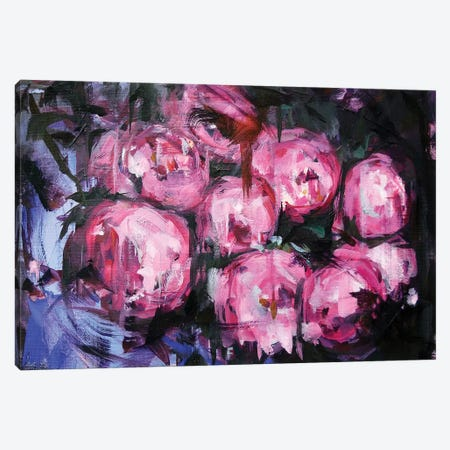 Peony P Canvas Print #HYU26} by Hyunju Kim Art Print