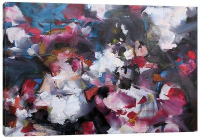 Romantic Strokes Canvas Art Print