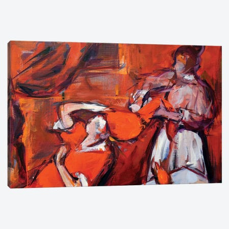 Secret Forms of Women Canvas Print #HYU34} by Hyunju Kim Canvas Wall Art