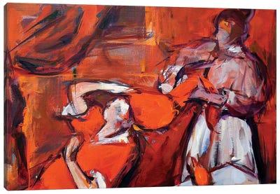 Secret Forms of Women Canvas Art Print
