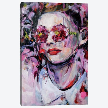 Sweet Tears Canvas Print #HYU37} by Hyunju Kim Canvas Wall Art