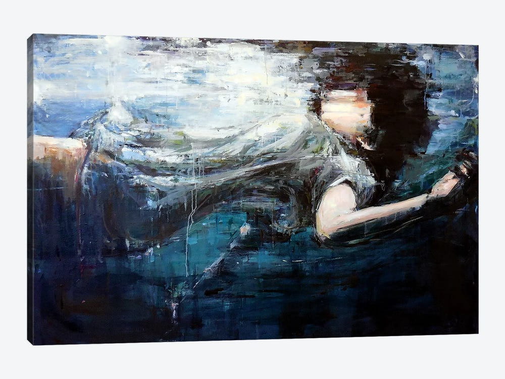 Underwater by Hyunju Kim 1-piece Canvas Wall Art