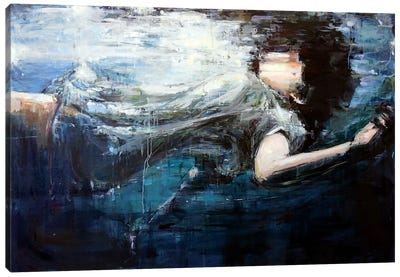 Underwater Canvas Art Print
