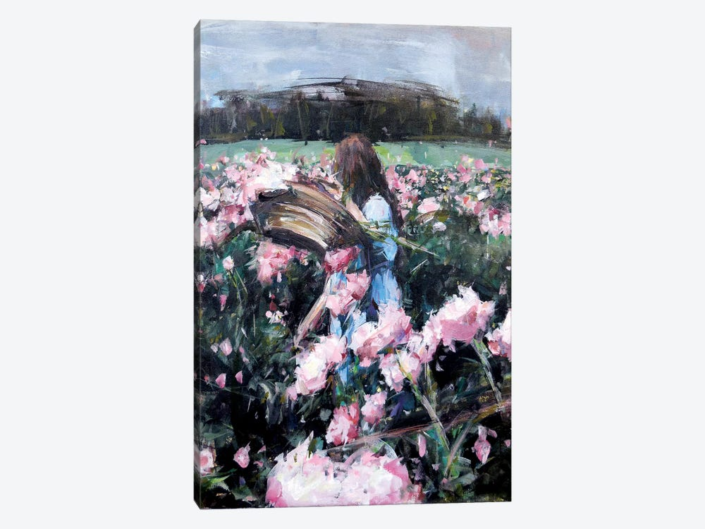 Blossoms IV by Hyunju Kim 1-piece Art Print