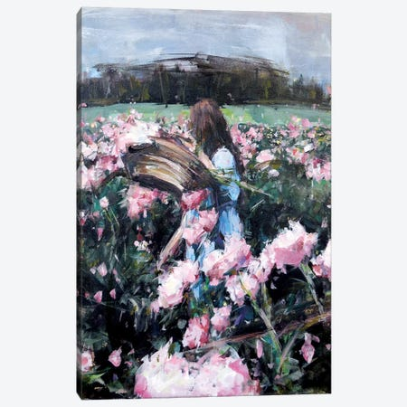 Blossoms IV Canvas Print #HYU3} by Hyunju Kim Canvas Print