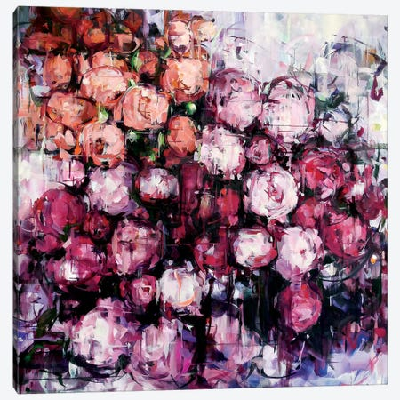 Veiled Explosive Canvas Print #HYU40} by Hyunju Kim Canvas Art