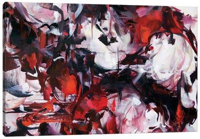 White Blood Canvas Art Print