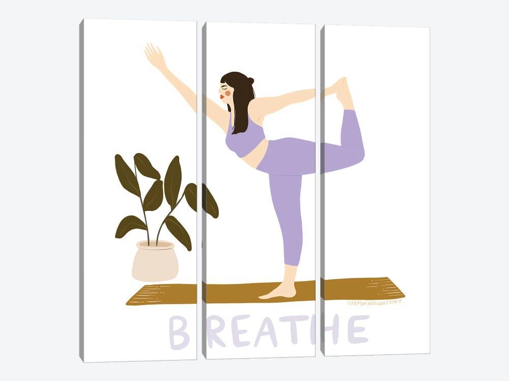 Breathe by Harmony Willow 3-piece Art Print