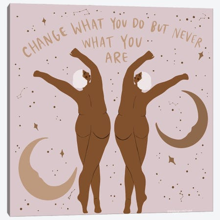 Change Canvas Print #HYW21} by Harmony Willow Canvas Wall Art