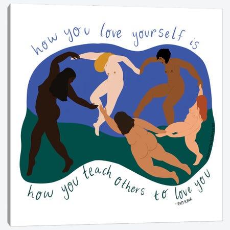 La Danse Canvas Print #HYW29} by Harmony Willow Canvas Wall Art