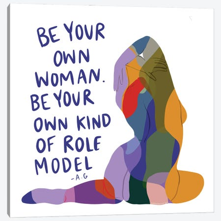 Be Your Own Woman Canvas Print #HYW2} by Harmony Willow Canvas Art Print