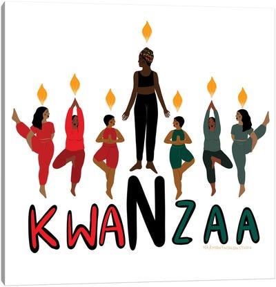 Kwanzaa Canvas Art Print