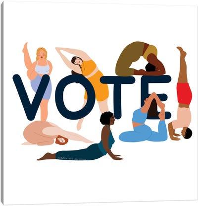 Vote Canvas Art Print