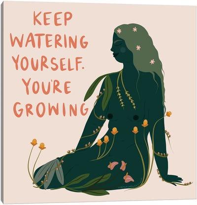 Keep Growing Canvas Art Print