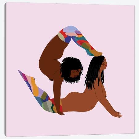 Rainbow Socks Canvas Print #HYW45} by Harmony Willow Art Print