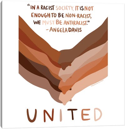 United Canvas Art Print