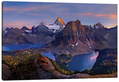 Mount Assiniboine Canvas Art Print