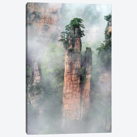 Zhangjiajie Canvas Print #HZH29} by Hua Zhu Canvas Print