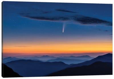 Comet Neowise Canvas Art Print