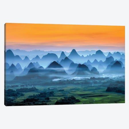 Dreamland Canvas Print #HZH37} by Hua Zhu Canvas Print