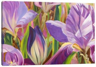Iris Details I Canvas Art Print