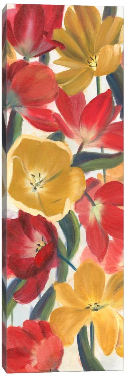 Tulip Array Panel I Canvas Art Print