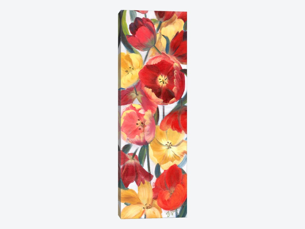 Tulip Array Panel II by Sandra Iafrate 1-piece Canvas Art
