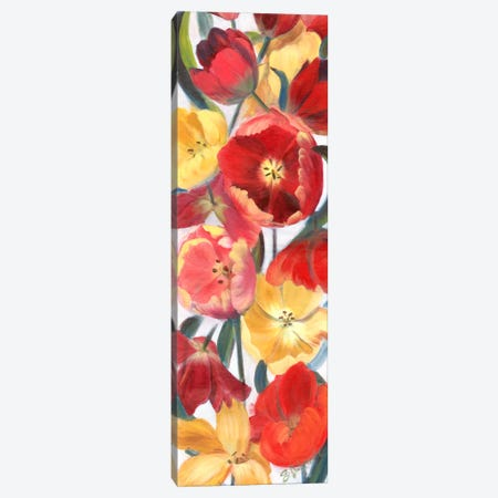 Tulip Array Panel II Canvas Print #IAF21} by Sandra Iafrate Canvas Print