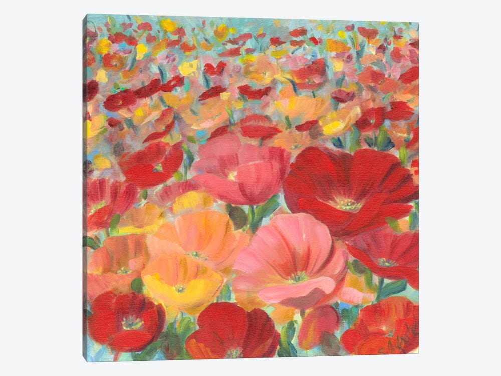 Wild Flower Field I by Sandra Iafrate 1-piece Art Print