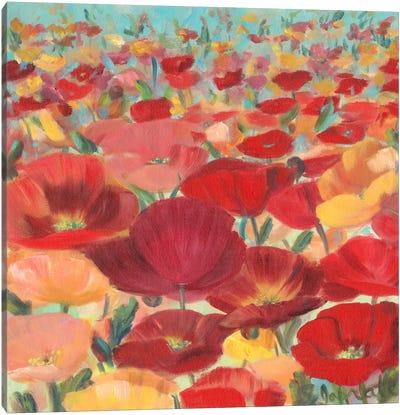 Wild Flower Field II Canvas Art Print