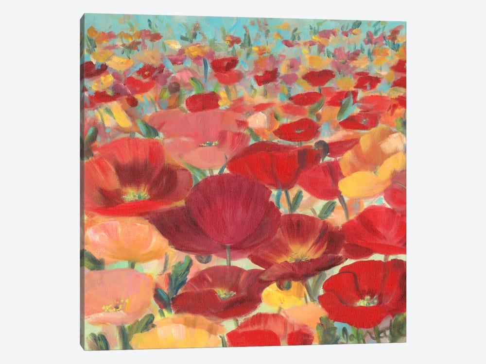 Wild Flower Field II by Sandra Iafrate 1-piece Canvas Wall Art