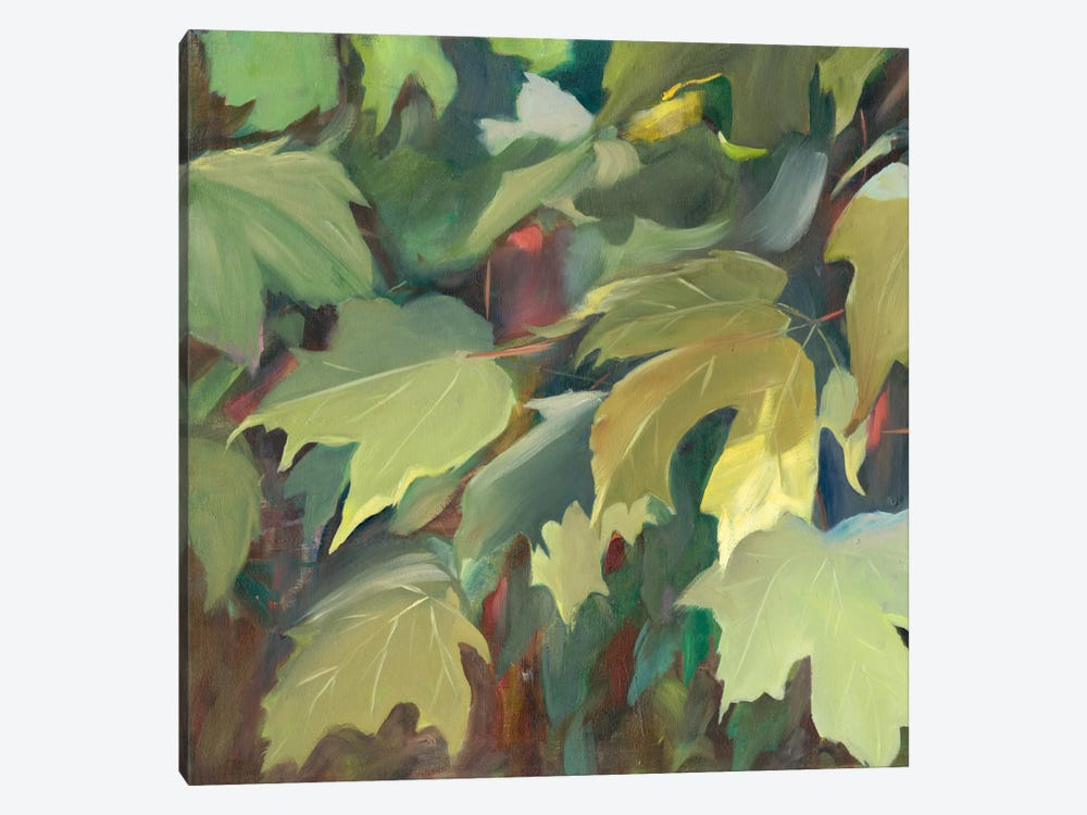 Leaf Array I by Sandra Iafrate 1-piece Canvas Print