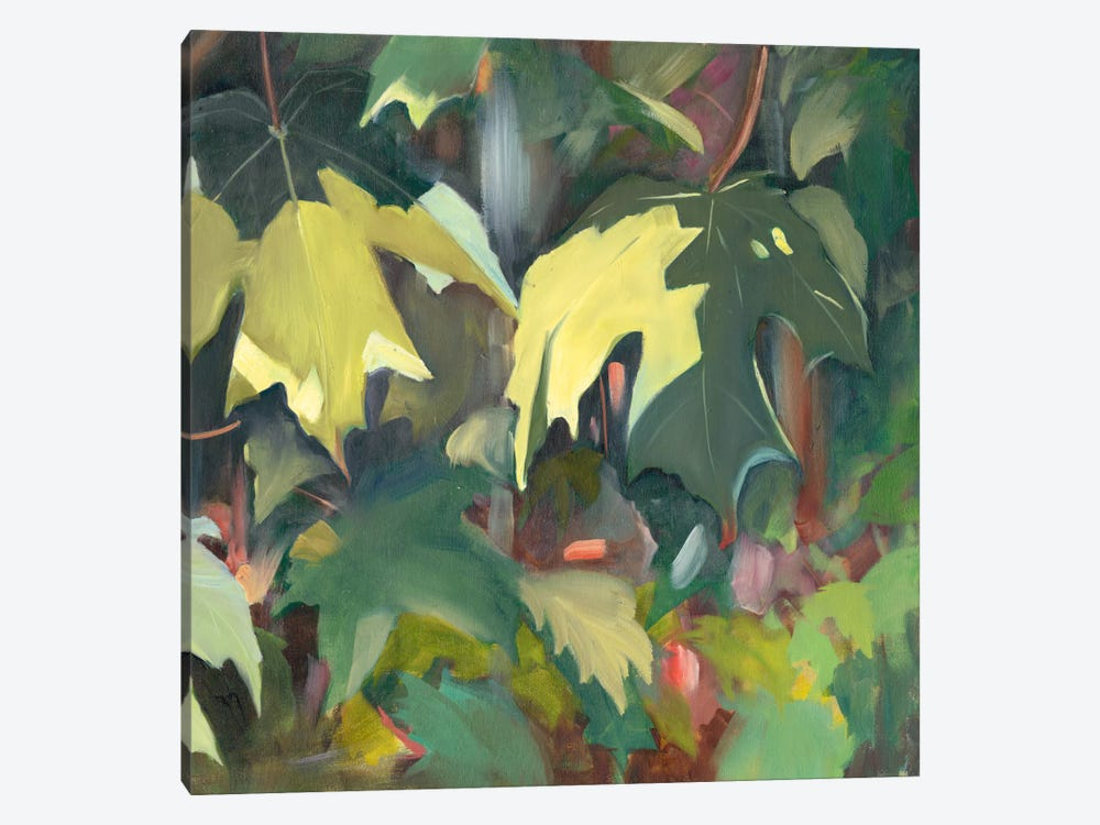 Leaf Array II by Sandra Iafrate 1-piece Canvas Wall Art