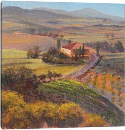 Nostalgic Tuscany I Canvas Art Print