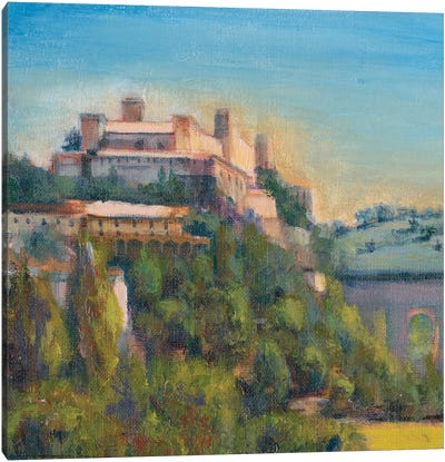 Nostalgic Tuscany II Canvas Art Print