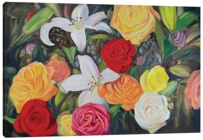 Floral Abundance II Canvas Art Print