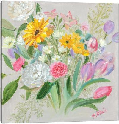 Floral Burst I Canvas Art Print