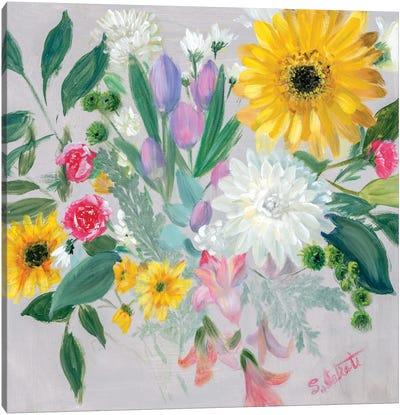 Floral Burst II Canvas Art Print