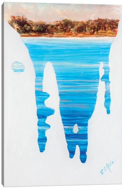 Running Water I Canvas Art Print