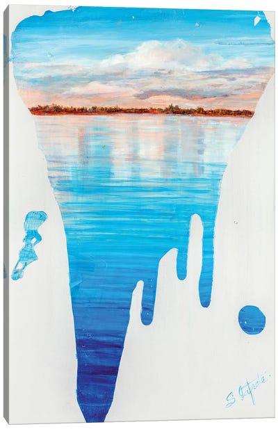 Running Water II Canvas Art Print