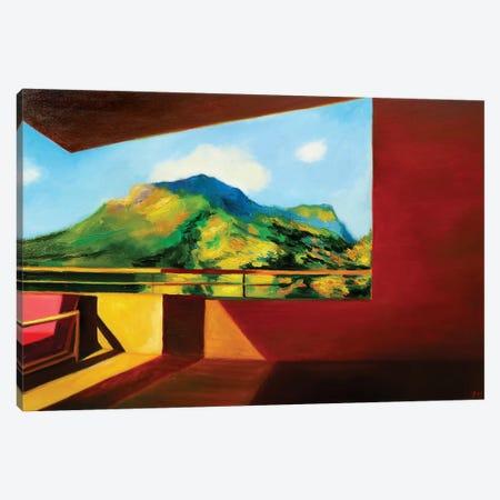 Evening Light Canvas Print #IBA16} by Ieva Baklane Canvas Artwork