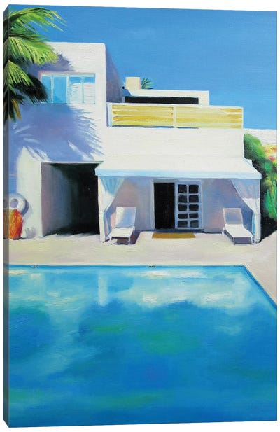 Florida Sun Canvas Art Print