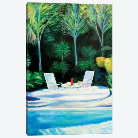 Friday Afternoon Canvas Print #IBA18} by Ieva Baklane Canvas Print