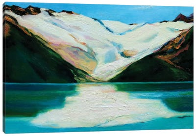Glacier Canvas Art Print