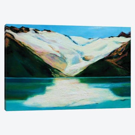 Glacier Canvas Print #IBA19} by Ieva Baklane Canvas Art Print
