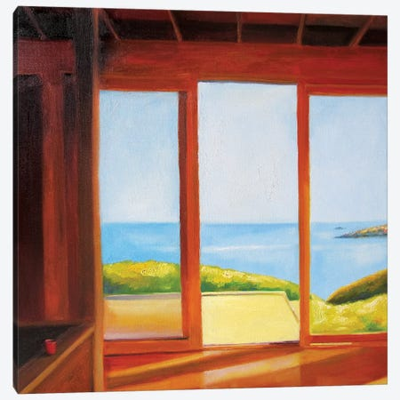Holiday House (Good Morning) Canvas Print #IBA21} by Ieva Baklane Canvas Wall Art