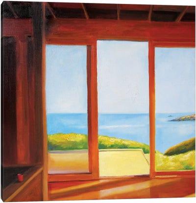 Holiday House (Good Morning) Canvas Art Print