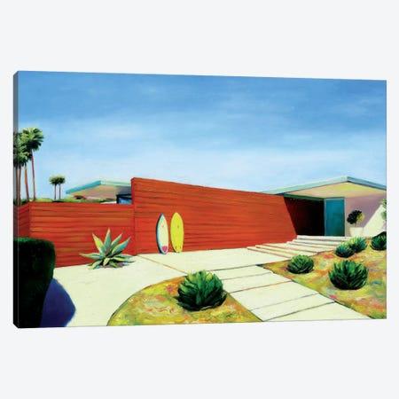 House By The Ocean Canvas Print #IBA23} by Ieva Baklane Canvas Art